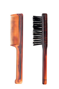 Set pettine baffi e spazzolina barba