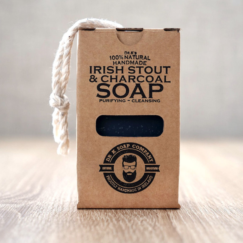 39967 DR K-IRISH STOUT&CHARCOAL SOAP 110G