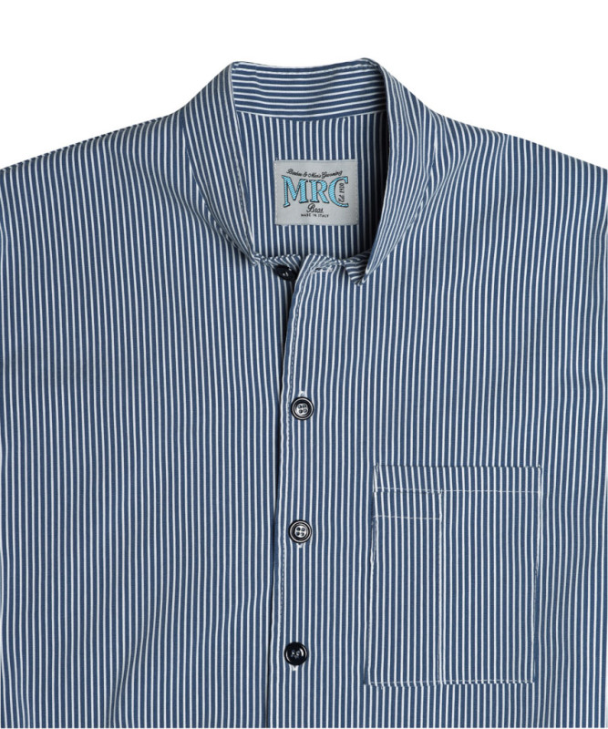 MRC Bros. - Casacca Brooklyn Blu Tg.XL