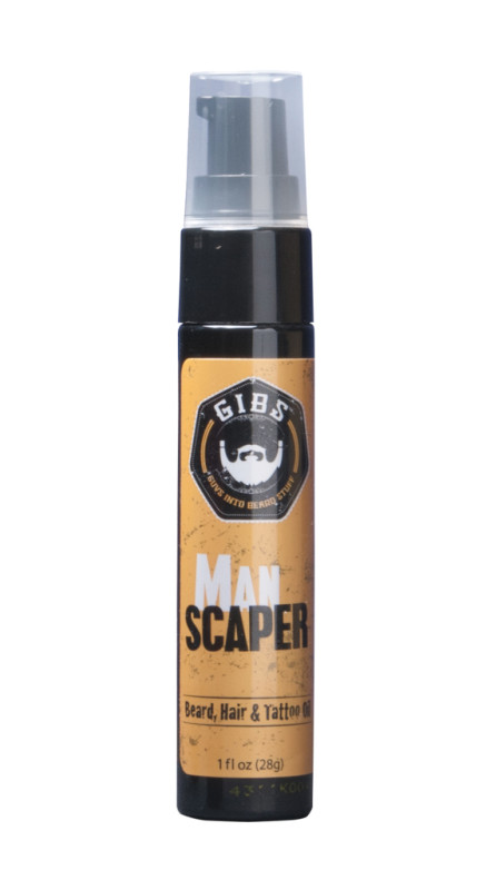 Olio da barba Gibs Grooming Manscaper Oil 29,6 ml