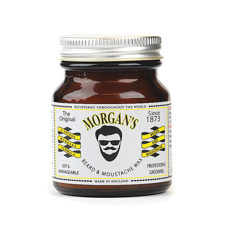 Pomata styling barba e baffi Morgan's Moustache & Beard Wax 50g