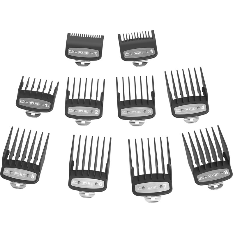 Wahl - Set 10 Alzi Premium Super Taper/Balding/Legend/Magic Clip/Icon