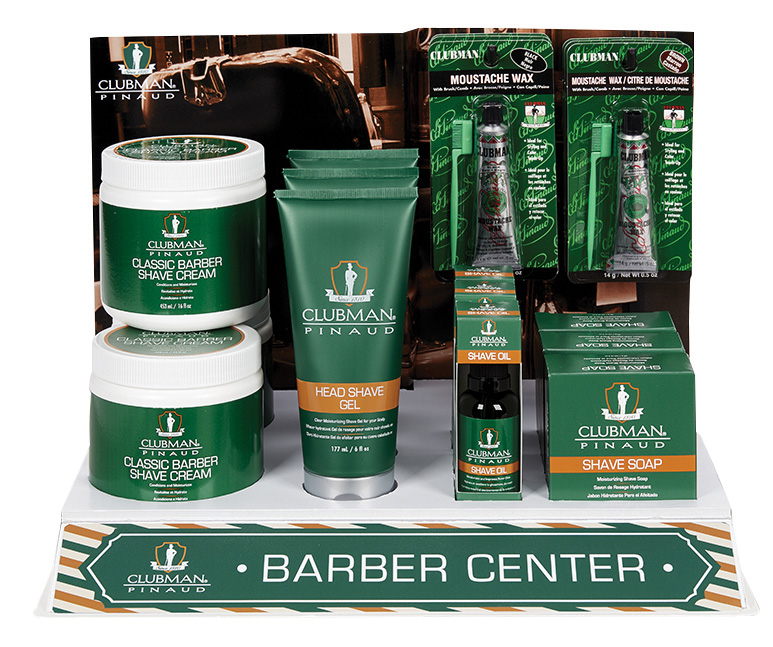 Clubman - Barber Center Display 18 pz
